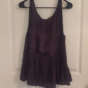urban outfitters brown colored tank blouse